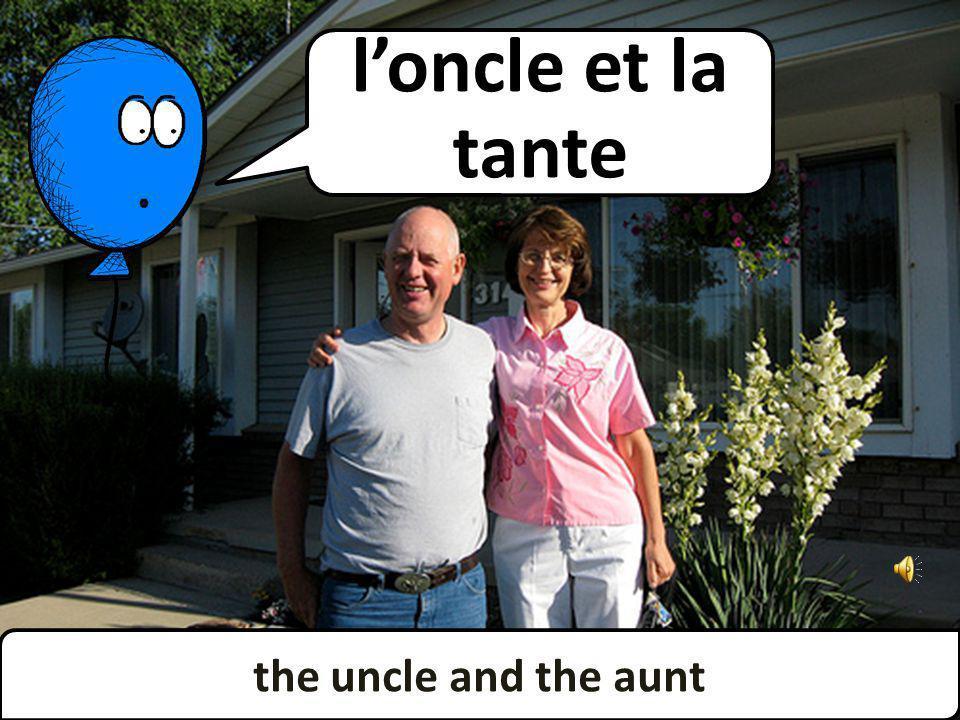 the uncle and the aunt loncle et la tante
