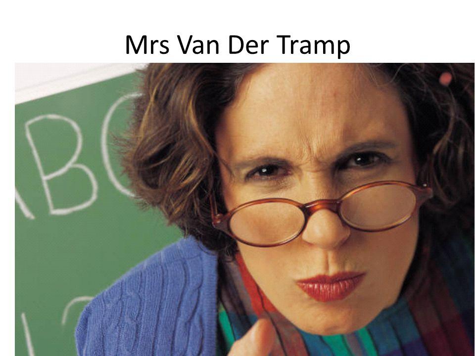 Mrs Van Der Tramp
