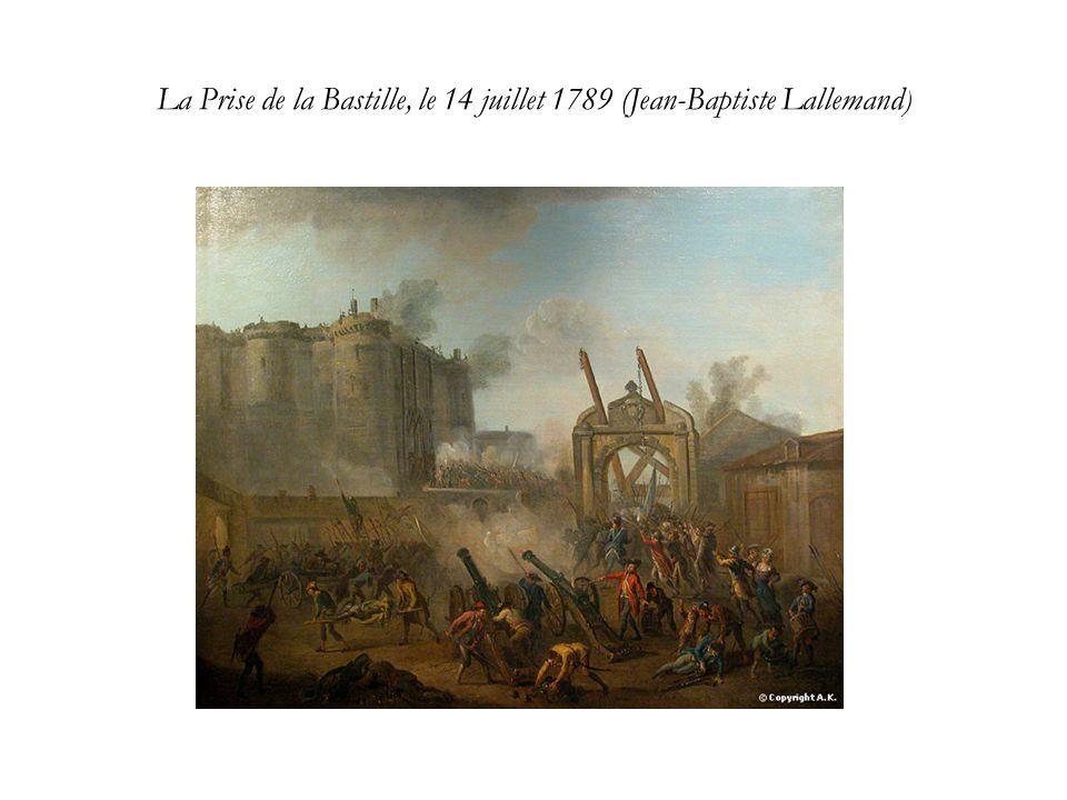 La Prise de la Bastille, le 14 juillet 1789 (Jean-Baptiste Lallemand )