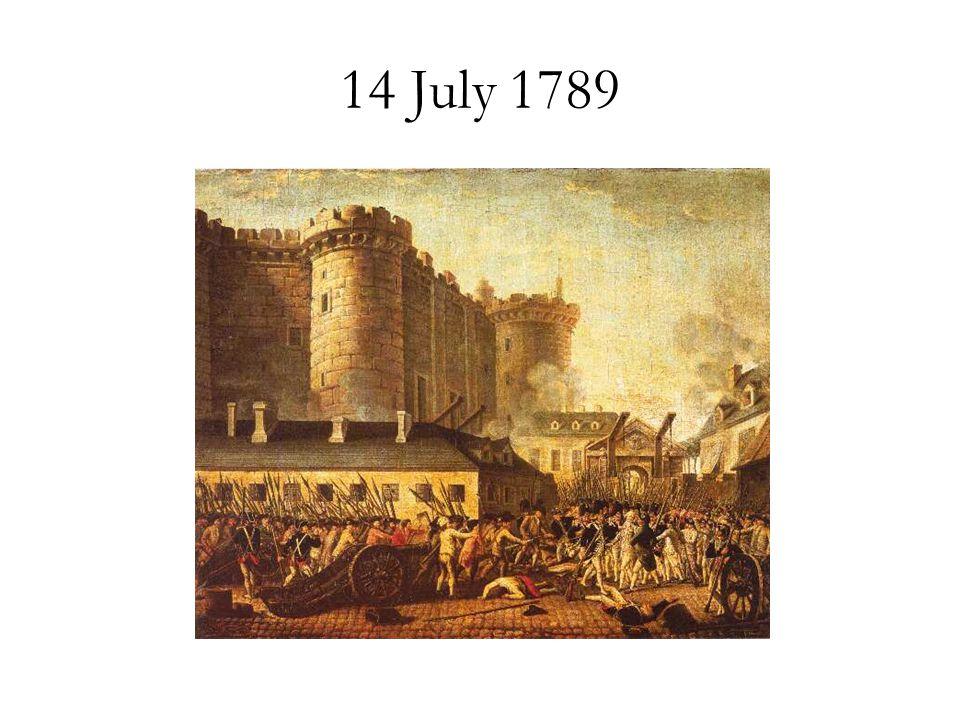 14 July 1789