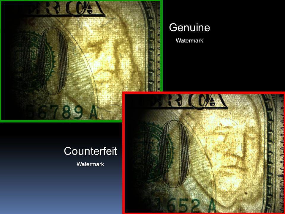 16 CounterfeitWatermark GenuineWatermark