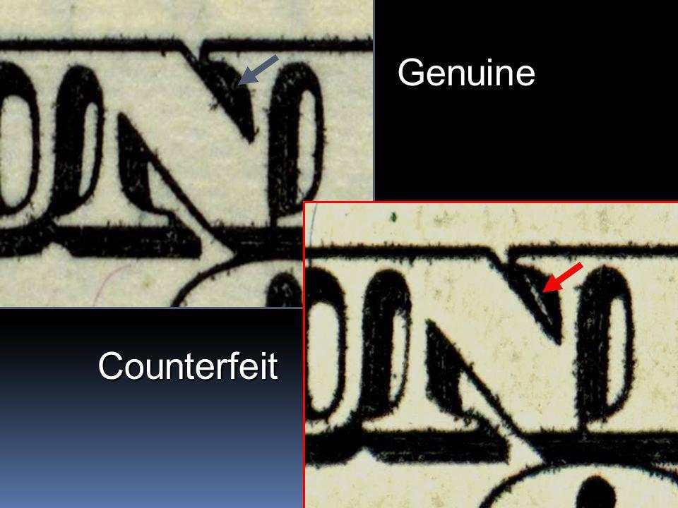 19 Genuine Counterfeit