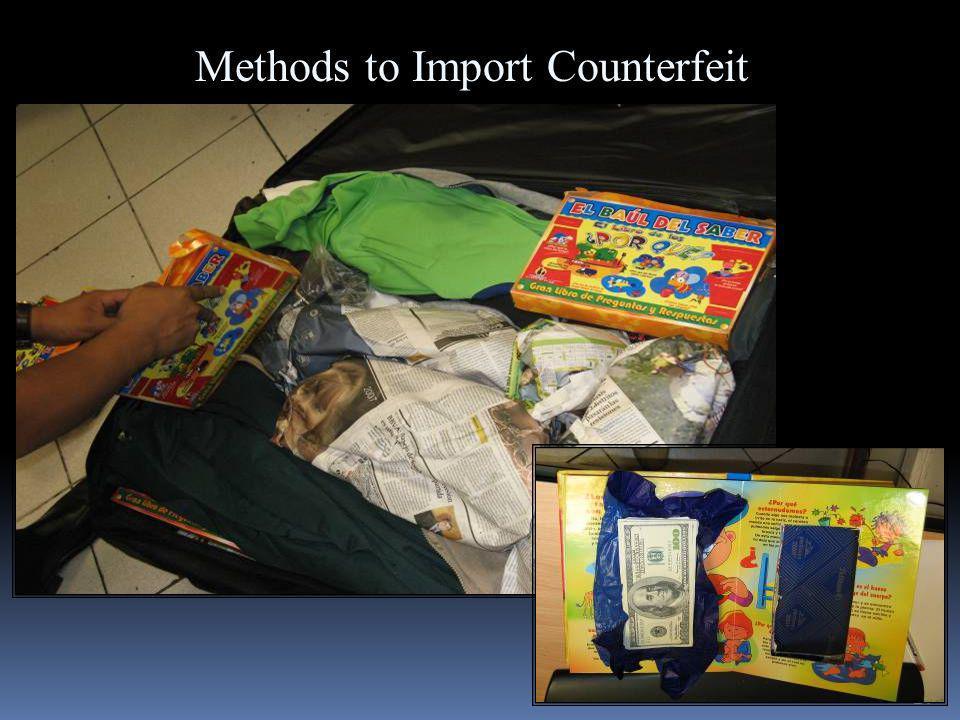 24 Methods to Import Counterfeit