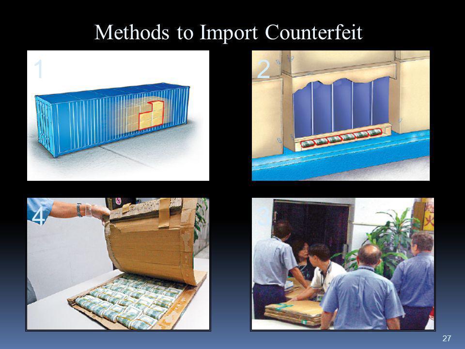 27 Methods to Import Counterfeit 12 34
