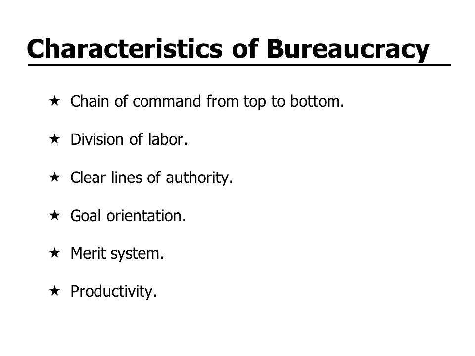 How the Bureaucracy Works Congress creates agencies.