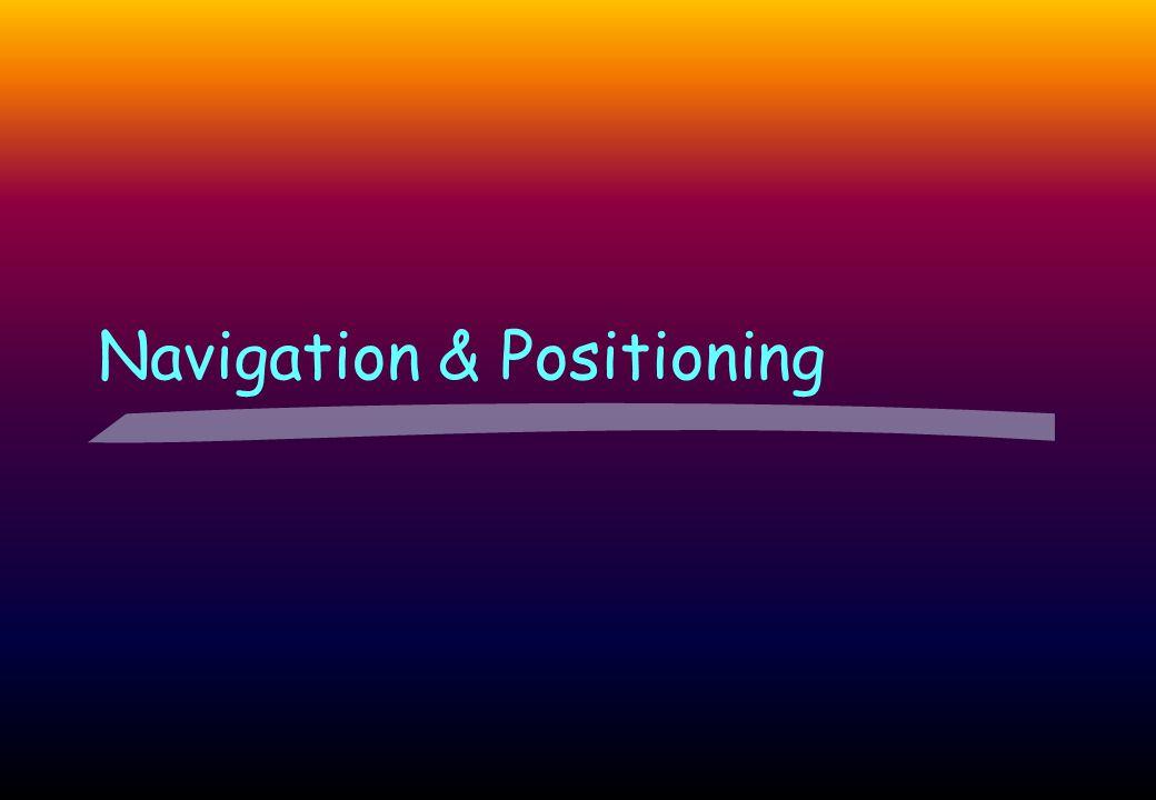 Navigation & Positioning