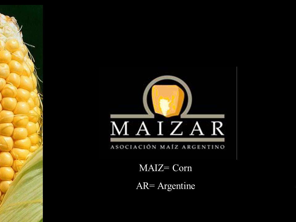 1 MAIZ= Corn AR= Argentine