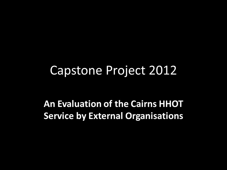 Placement Organisation Queensland Health Homeless Health Outreach Team HHOT Cairns