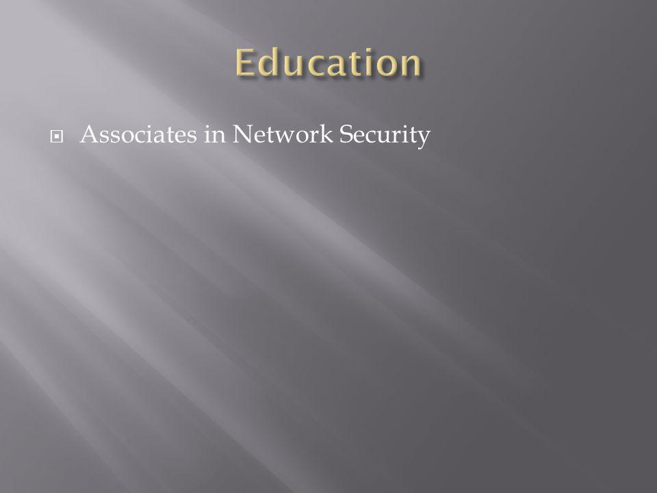 Associates in Network Security