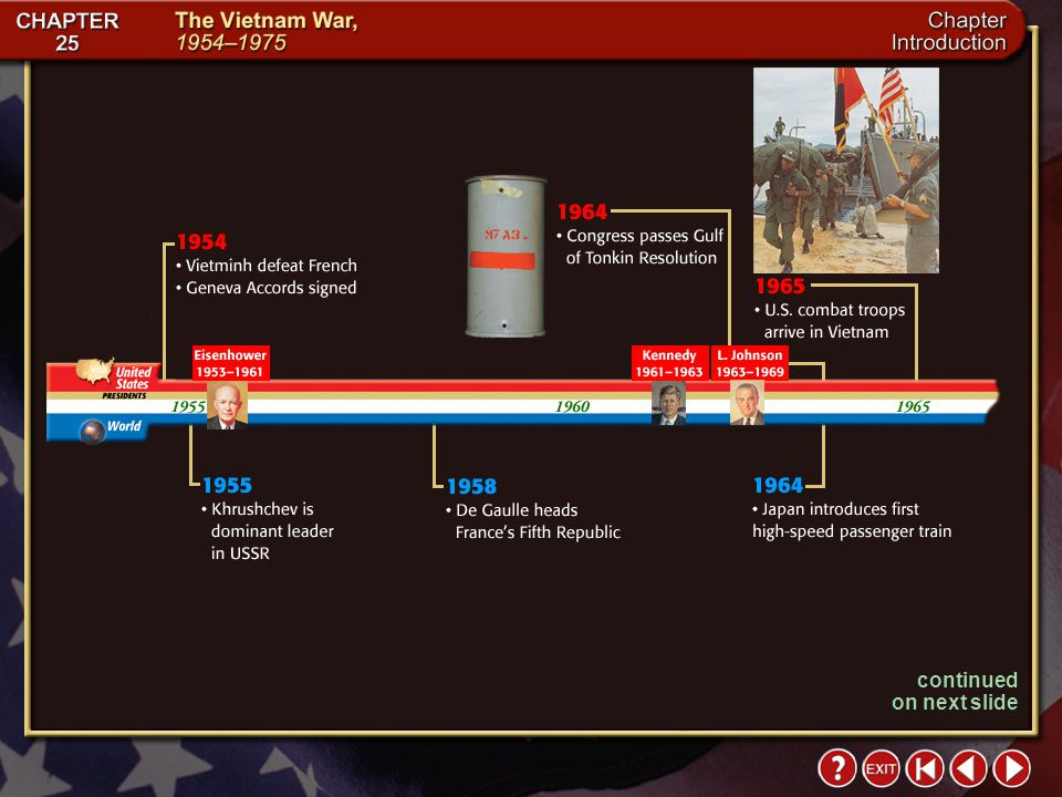 Intro 7 The Impact Today Changes brought about by the war are still evident in the United States today. The nation is reluctant to commit troops overs