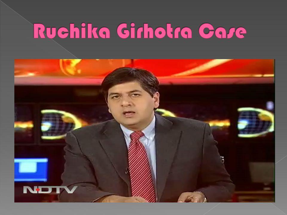 =2000--2010 Nov 16, 2000: CBI files charge sheet against Rathore iRuchika molestatiocase. Dec 5, 2000: Rathore removed as Haryana DGP. Sent oleave. Ma