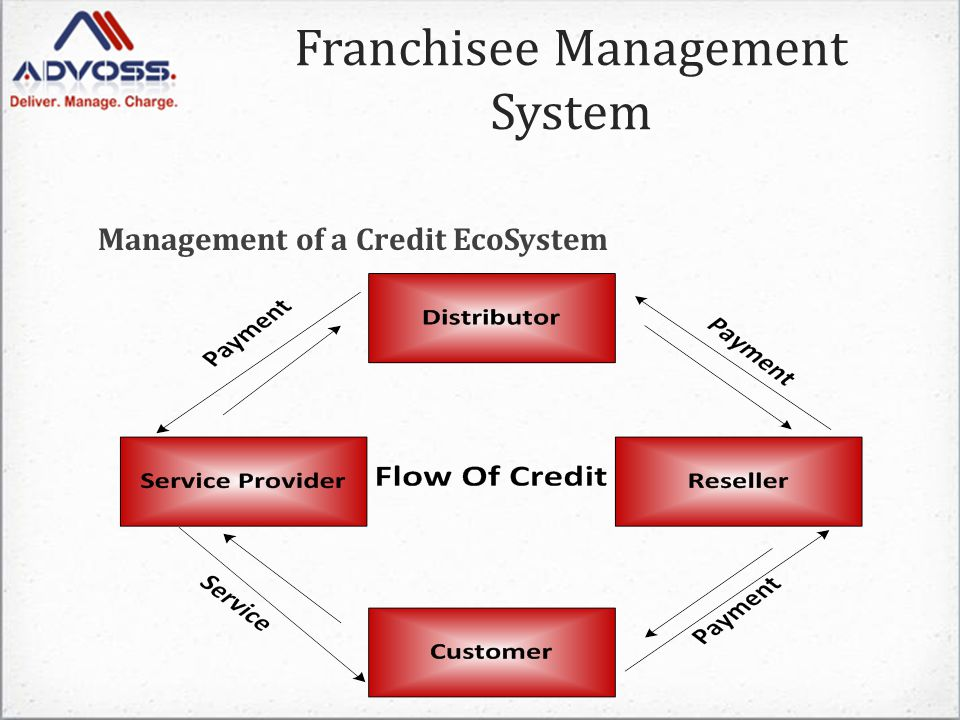 Management of a Credit EcoSystem Franchisee Management System