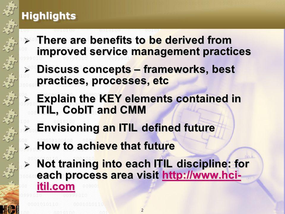 22 CobIT Governance Framework