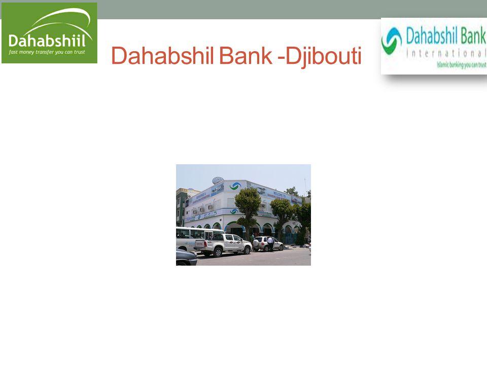Dahabshil Bank -Djibouti