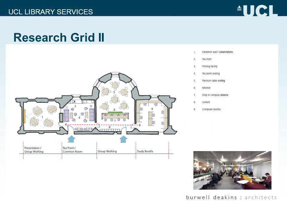 UCL LIBRARY SERVICES Research Grid II