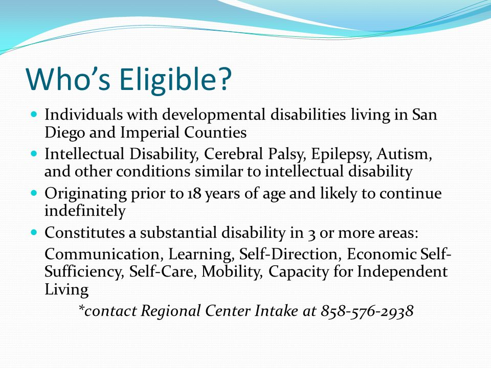 Whos Eligible.