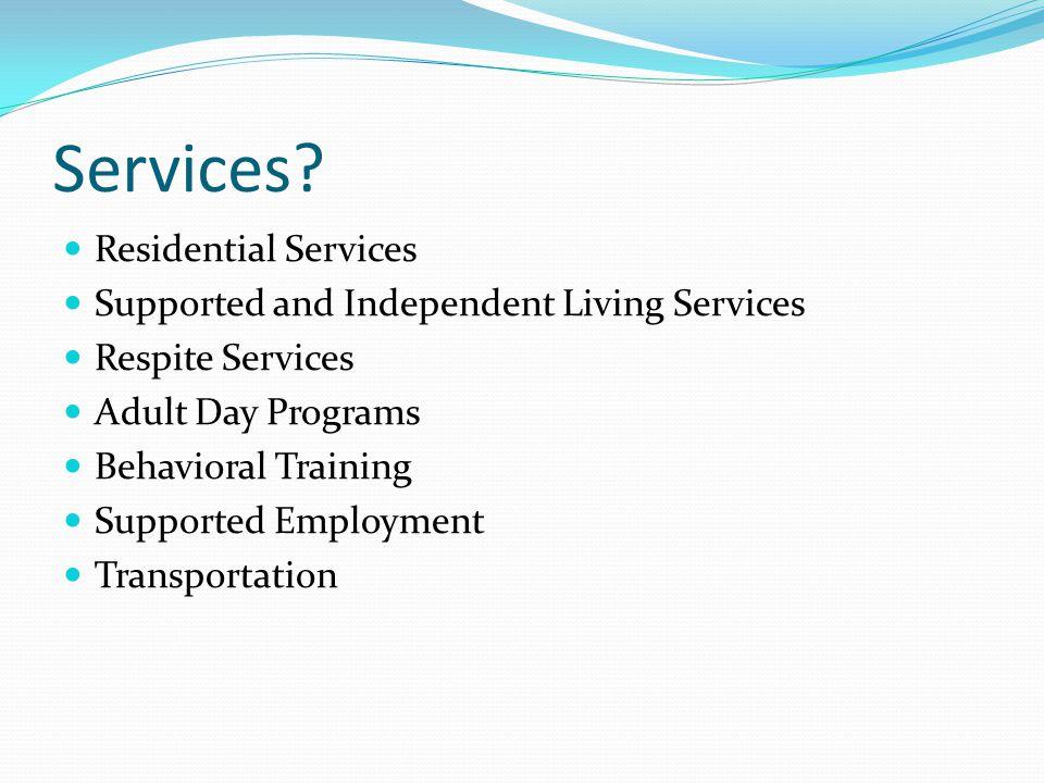 Services.