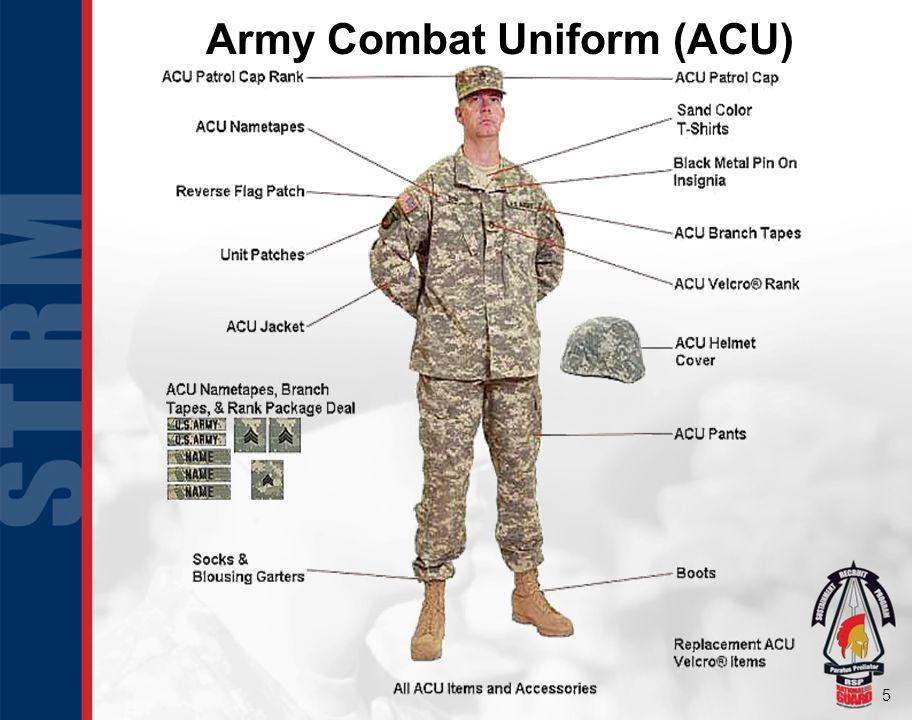 5 Army Combat Uniform (ACU)