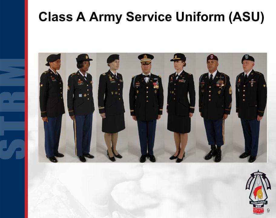 9 Class A Army Service Uniform (ASU)