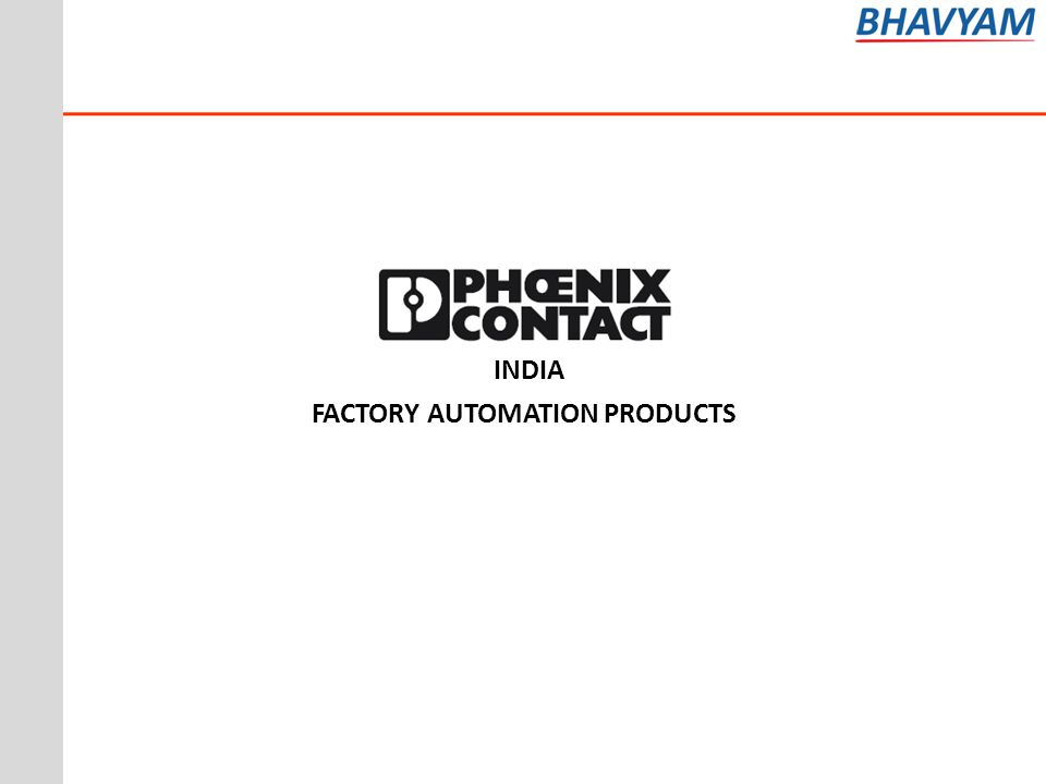 INDIA FACTORY AUTOMATION PRODUCTS