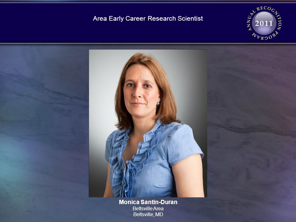 Monica Santin-Duran Beltsville Area Beltsville, MD Area Early Career Research Scientist