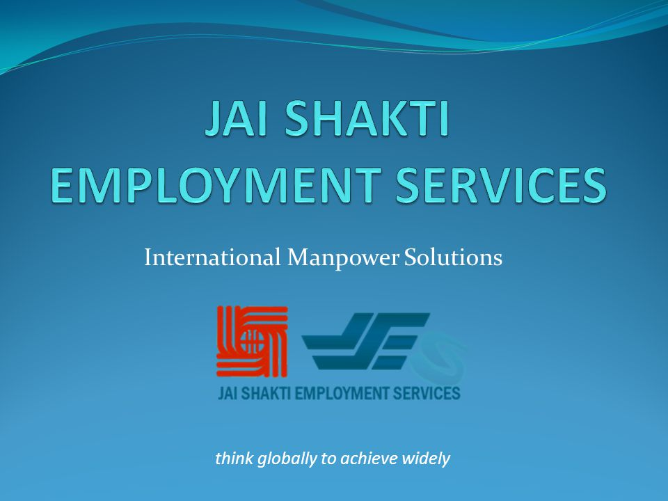 International Manpower Solutions think globally to achieve widely