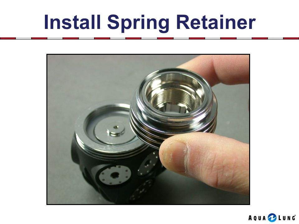 Install Spring Retainer