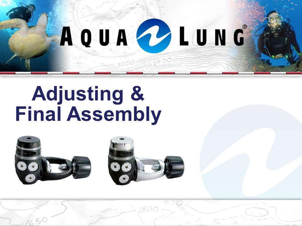 Adjusting & Final Assembly