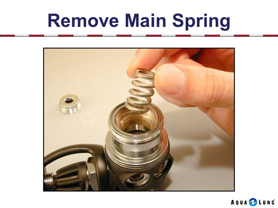 Remove Main Spring