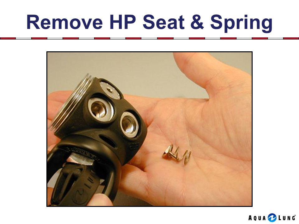Remove HP Seat & Spring