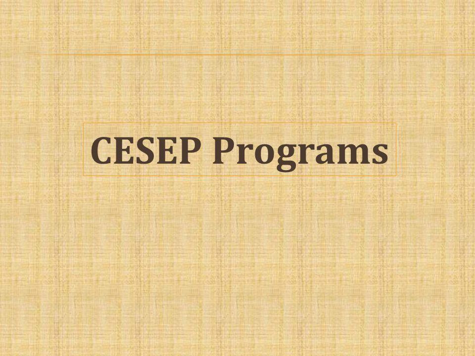 CESEP Programs