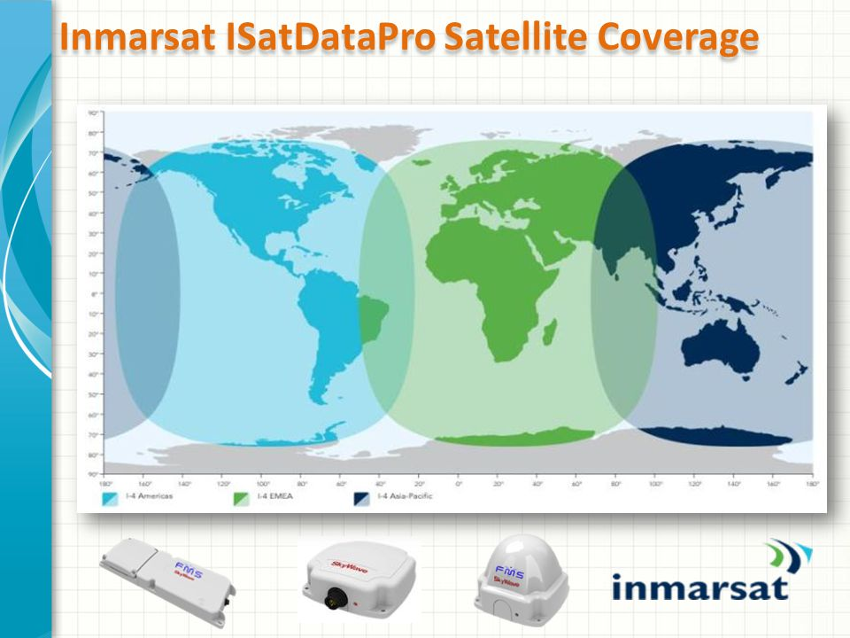 Inmarsat ISatDataPro Satellite Coverage