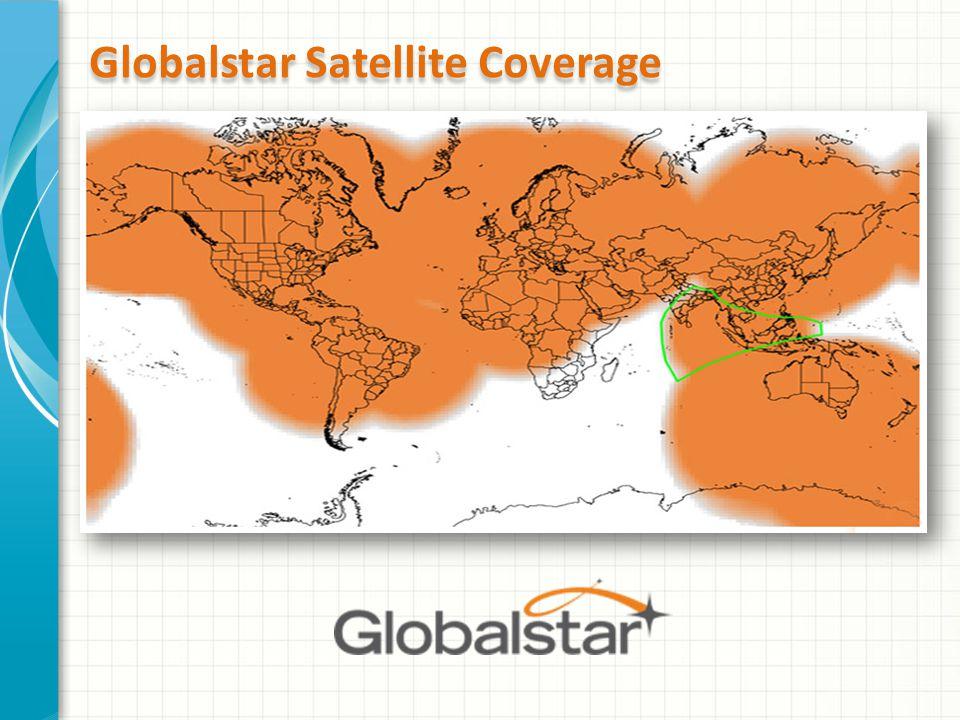 Globalstar Satellite Coverage