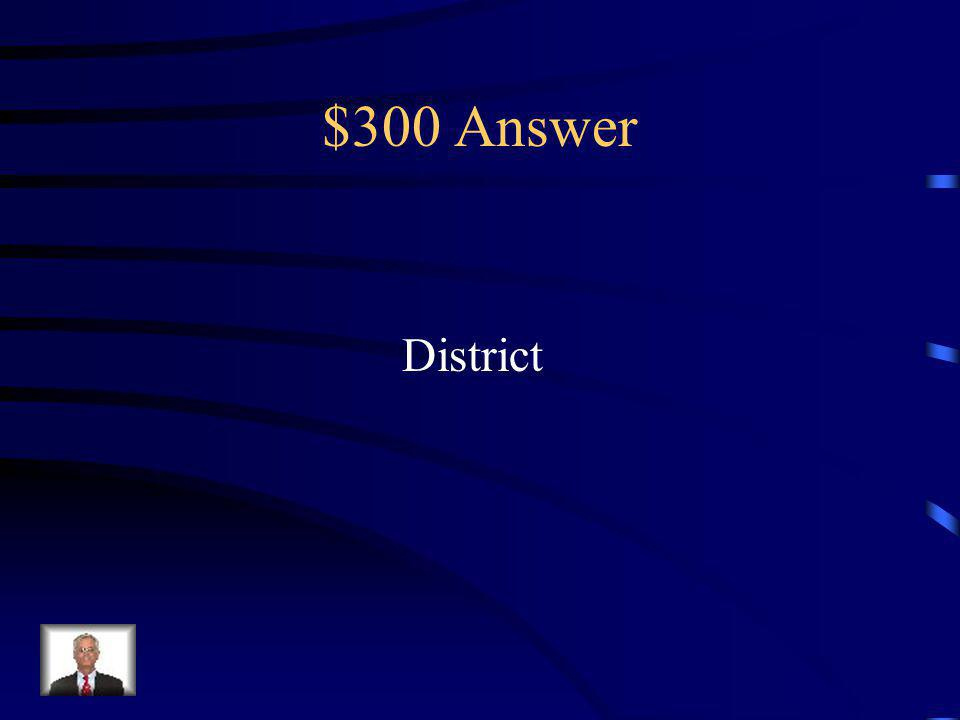 $300 Question Its main function is to develop and maintain Circle K clubs within the specified region.