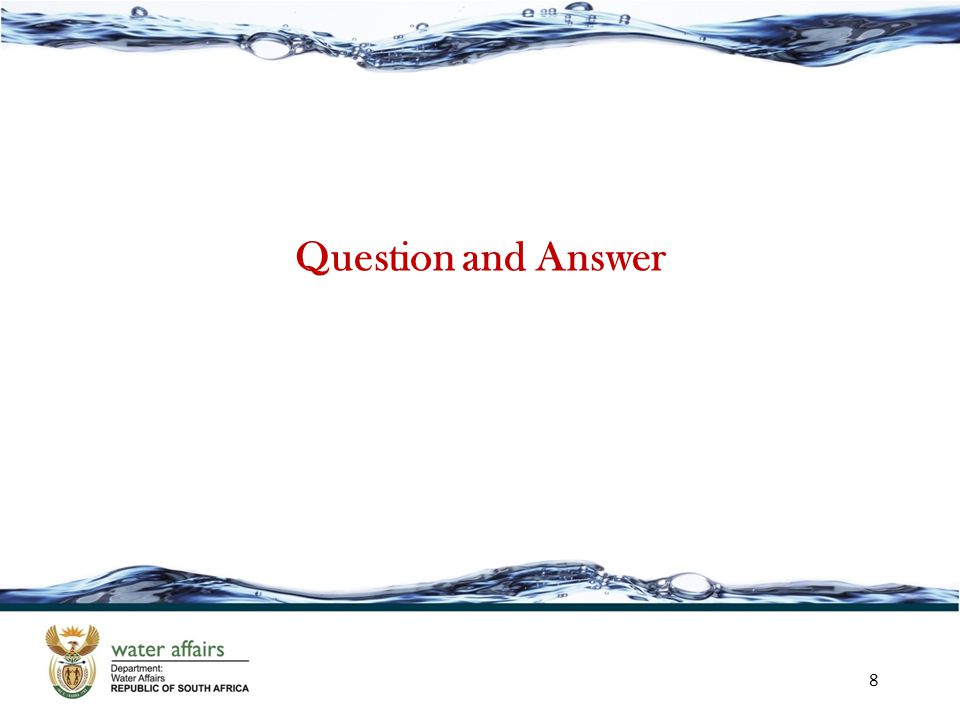 Question and Answer 8