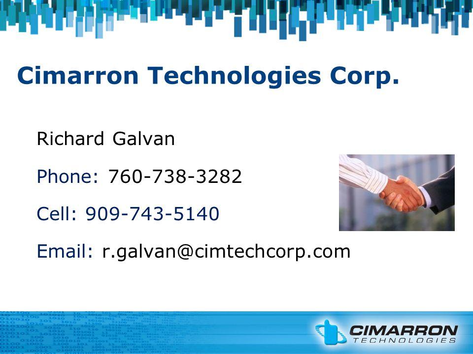 Cimarron Technologies Corp.
