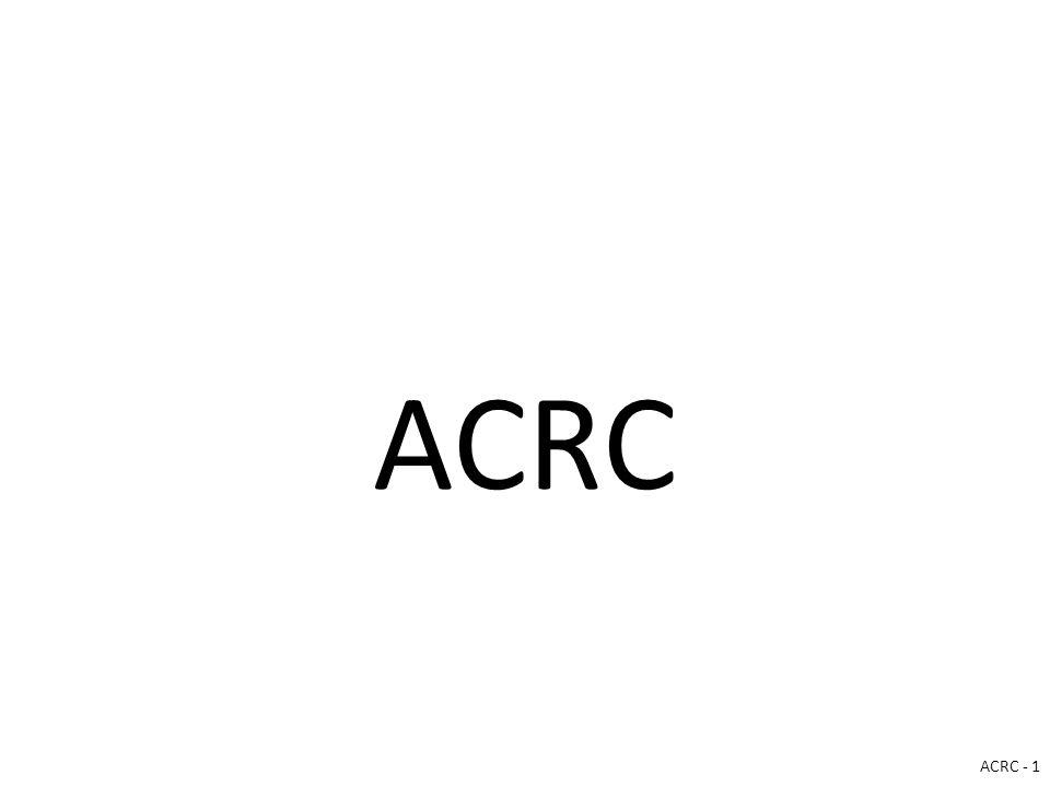 ACRC ACRC - 1