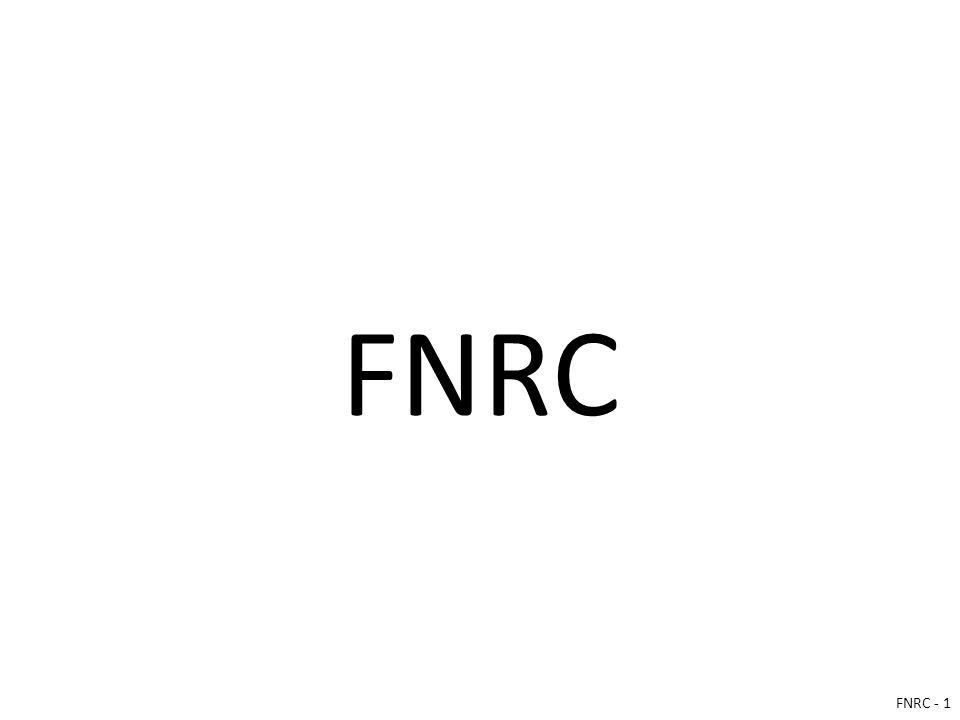 FNRC FNRC - 1