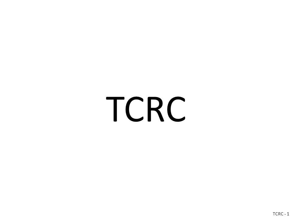 TCRC TCRC - 1