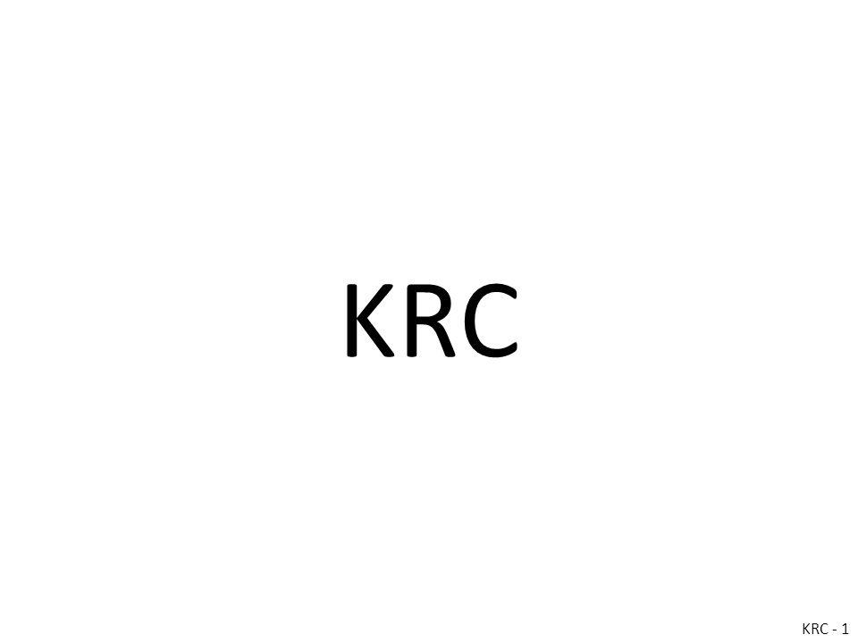 KRC KRC - 1