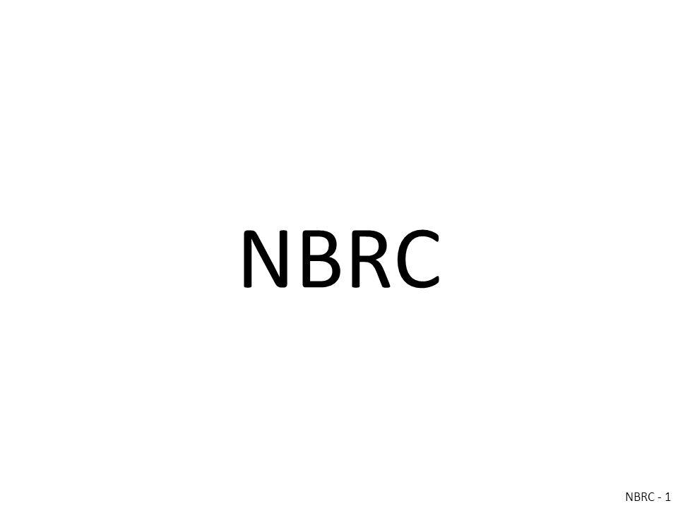 NBRC NBRC - 1