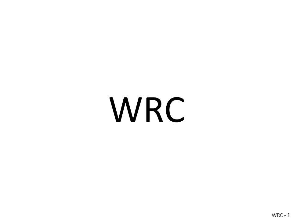 WRC WRC - 1