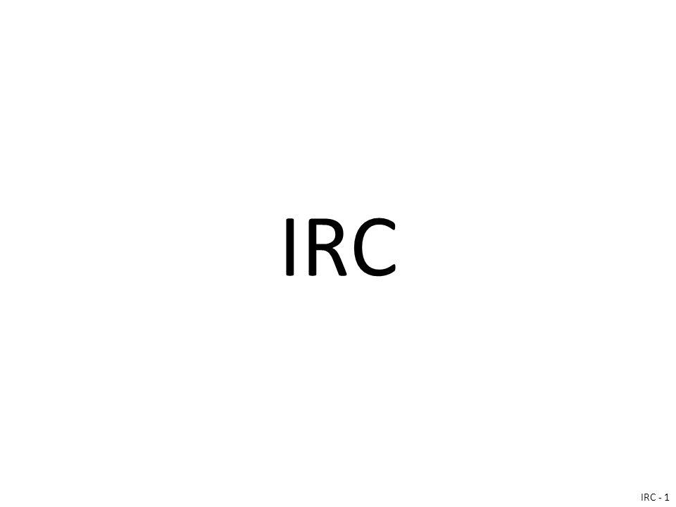 IRC IRC - 1