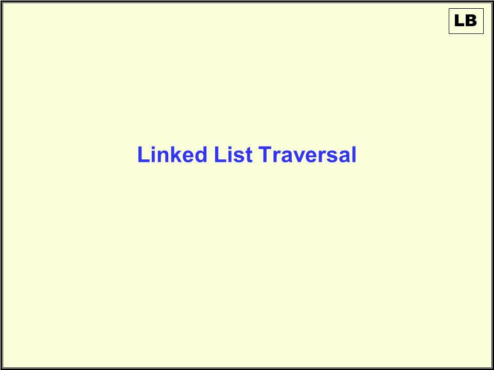 Linked List Traversal LB