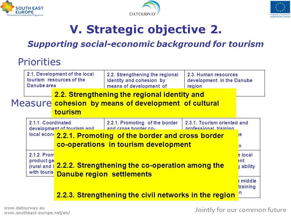 V. Strategic objective 2.
