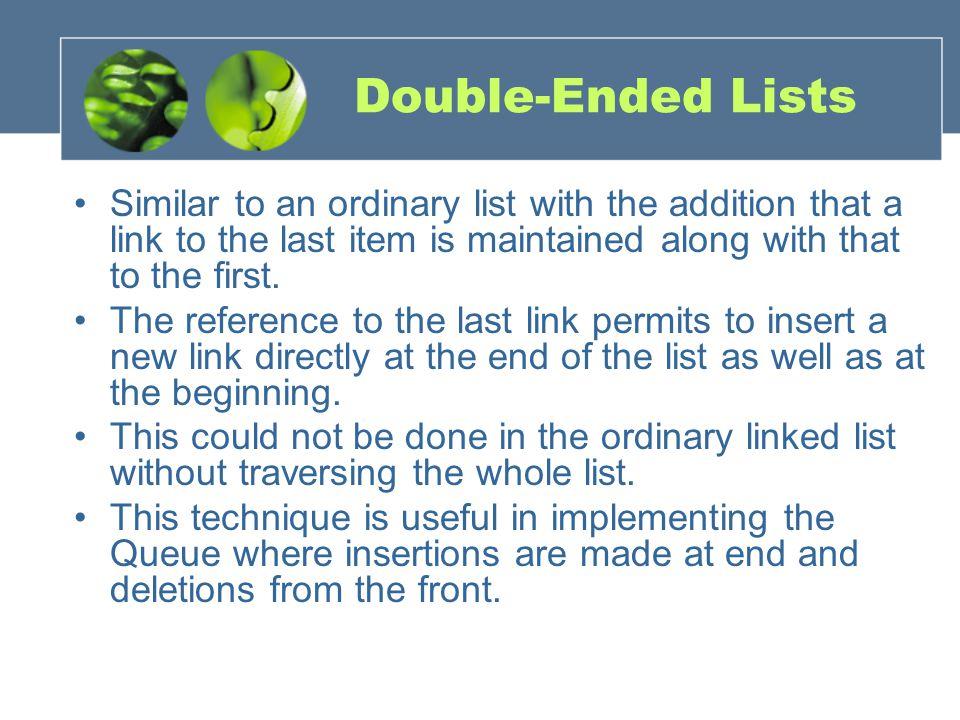 Double-Ended Lists..\ReaderPrograms\ReaderFiles\Chap05\d oublyLinked\doublyLinked.java..\ReaderPrograms\ReaderFiles\Chap05\d oublyLinked\doublyLinked.java nullFirst last