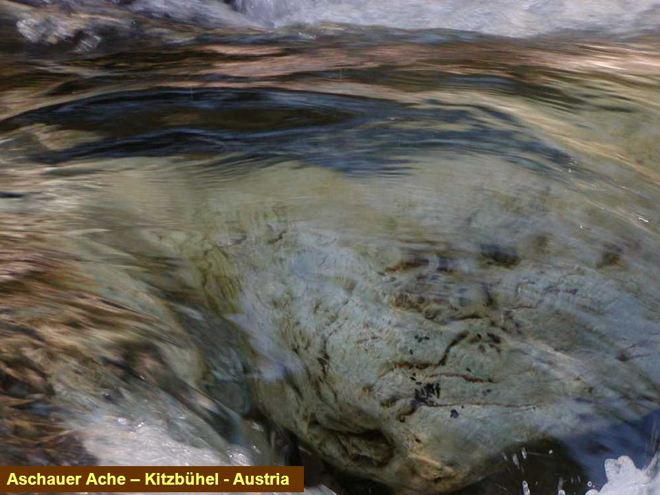 Aschauer Ache – Kitzbühel - Austria
