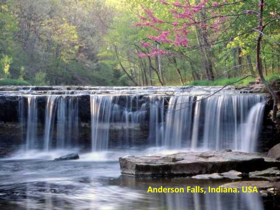 Anderson Falls, Indiana. USA