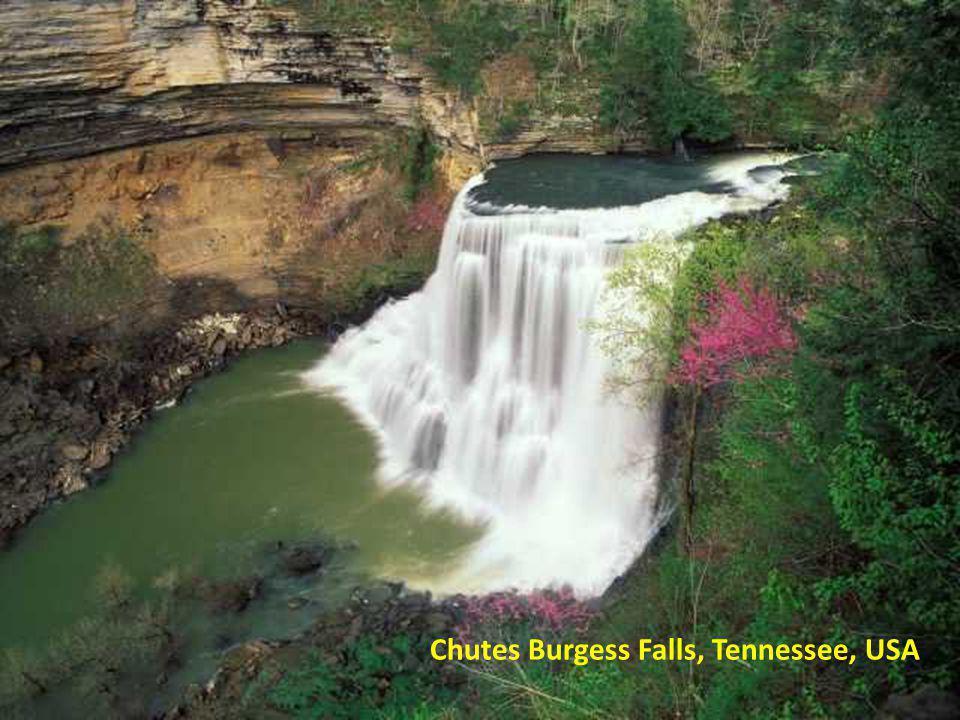Chutes Burgess Falls, Tennessee, USA