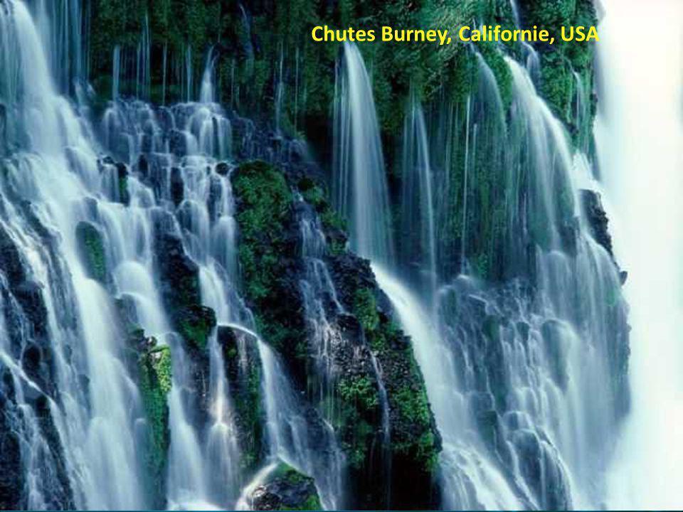 Chutes Burney, Californie, USA